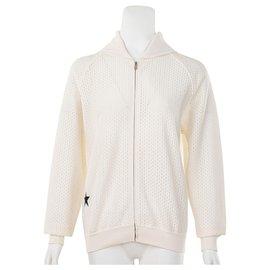 Dior-Veste zippée avec étoile brodée-Blanc