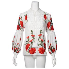 Alexis-Rose Embroidered Tunic-Multiple colors