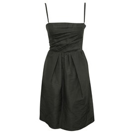 Dolce & Gabbana-Black evening dress-Black