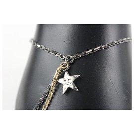 Chanel-17B Moon Star CC Crystal Chain Bracelet-Other