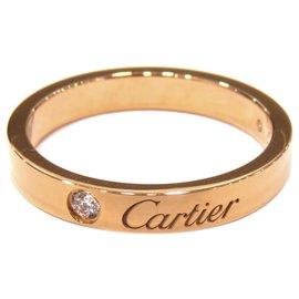Cartier-Cartier Or C de Cartier 1 bague de diamant-Doré