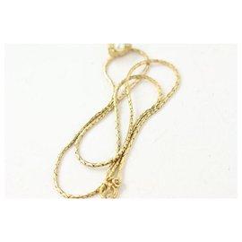 Dior-Collier de perles en or-Autre