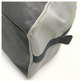 Chanel-Grey Bicolor Sports Logo CC Duffle Bag-Other