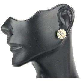 Chanel-00T Pierce CC Earrings Silver x Ivory-Other