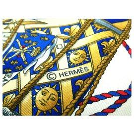 Hermès-HERMES CARRE-Blue