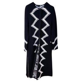 Chanel-5,2K$ Runway Maxi Jacket-Black