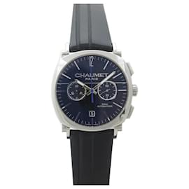 Chaumet-CHAUMET DANDY WATCH 1229 Chronograph 40 MM AUTOMATIC STEEL WATCH-Silvery