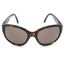 Chanel-Chanel sunglasses 5197 BROWN PLASTIC + BROWN SUNGLASSES CASE-Brown