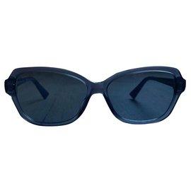Dior-Des lunettes de soleil-Bleu