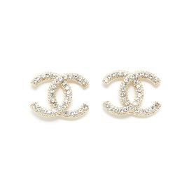 Chanel-GOLDEN CC lined BRAID L-Golden