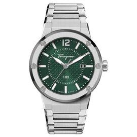 Salvatore Ferragamo-F-80 Bracelet  Watch-Metallic