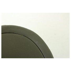 Louis Vuitton-Khaki green 37 Sunbath Flat Mule Sandal-Other
