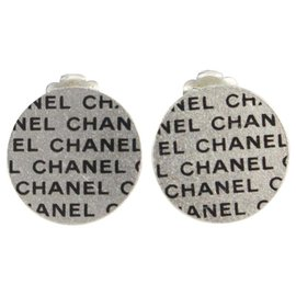 Chanel-00C CC Logo All Over Earrings-Other