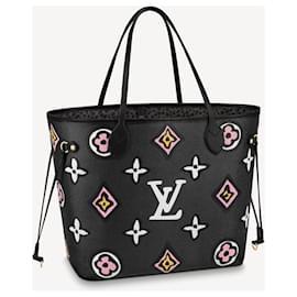 Louis Vuitton-LV Neverfull sauvage au coeur-Noir