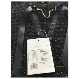 Chanel-Cosmopolite Tweed Jumper-Black
