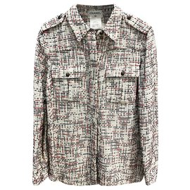 Chanel-Tweed Shirt-Multiple colors