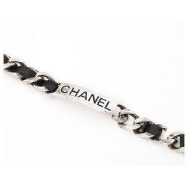 Chanel-CLASSIC TIMELESS BLACK CHAIN T85-Black,Silver hardware