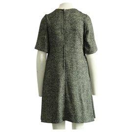 Dolce & Gabbana-Woolen Dress-Black