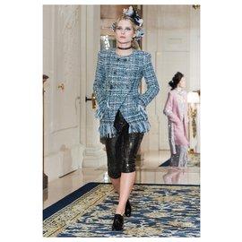 Chanel-11K$ NEW Cosmopolite Jacket-Blue