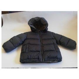 Roberto Cavalli-Boy Coats Outerwear-Dark grey