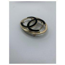 Chanel-belt loop-Black,Gold hardware