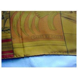Hermès-SQUARE in SQUARE-Multiple colors