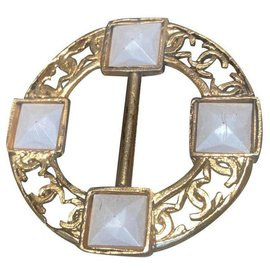 Chanel-Other jewelry-White,Golden