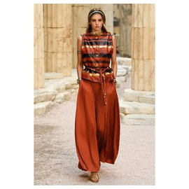 Chanel-GREECE Runway Pants-Other