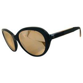 Chanel-Sunglasses-Golden