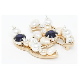 Chanel-GOLDEN CC L JEWELLED-Golden