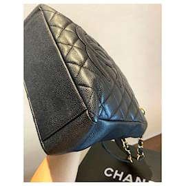 Chanel-Chanel PST Petite shopping Tote bag-Black