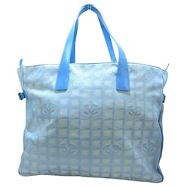 Chanel-Chanel Travel bag-Blue