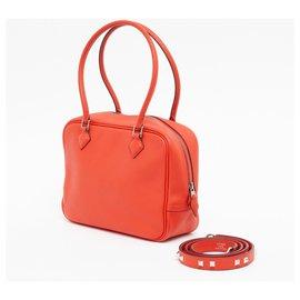 Hermès-PLUME TPM AND 2021 MINI DOG STRAP CAPUCINE-Rouge