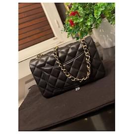 Chanel-Timeless Lambskin mini bag Black-Black