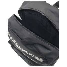 Alexander Mcqueen-Metropolitan Backpack in Black Nylon-Black