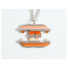 Chanel-Chanel necklace-Orange
