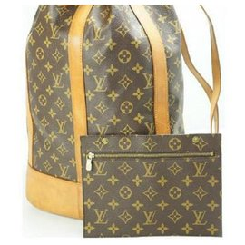 Louis Vuitton-Monogram Randonne GM with Pouch Drawstring Bucket 11LV712-Other