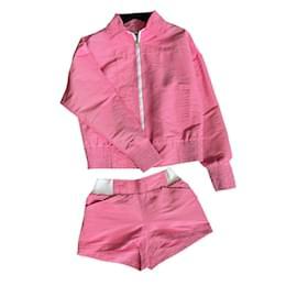 Chanel-Charmig CC  Suit-Pink