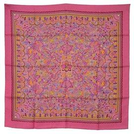 Hermès-square hermes garden of armenia-Pink