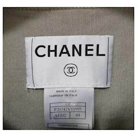 Chanel-Chanel Cotton Blazer Vest Sz. 44-Multiple colors