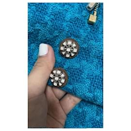 Chanel-Chanel 2019 Blue jacket-Blue