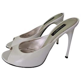Dolce & Gabbana-Sandals-White