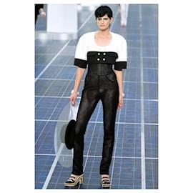 Chanel-Crop Tweed Jacker-Black
