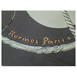 Hermès-HERMES CARRE-Grey
