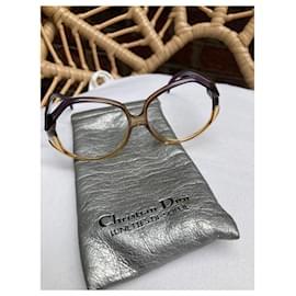 Dior-Superbe lunette Dior vintage-Beige