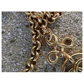 Chanel-Chanel CC GHW Vintage 1993 Belt-Gold hardware