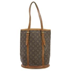 Louis Vuitton-LOUIS VUITTON Monogram Bucket GM Shoulder Bag M42236 **No Sticky Auth yt059-Other