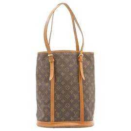 Louis Vuitton-LOUIS VUITTON Monogram Bucket GM Shoulder Bag M42236 LV Auth 23761-Other