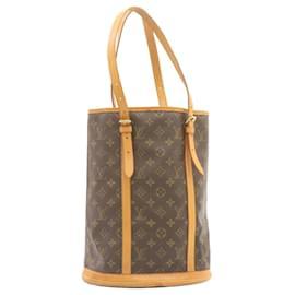 Louis Vuitton-LOUIS VUITTON Monogram Bucket GM Shoulder Bag M42236 LV Auth 23762-Other