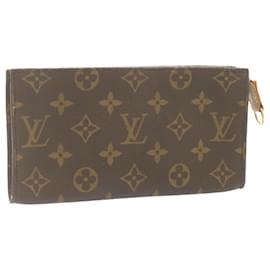 Louis Vuitton-LOUIS VUITTON Monogram Bucket GM Pouch LV Auth 23780-Other